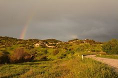 Rainbow at Archimandrita village, Pafos