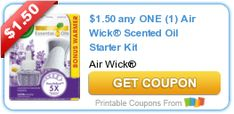 Tri Cities On A Dime: SAVE $1.50 ON ANY AIR WICK SCENTED OIL STARTER KIT...