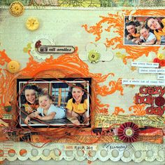 BG  - crazy hair day by the paint brush goes spottie, via Flickr