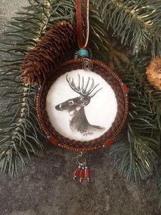 Snuff can ornaments