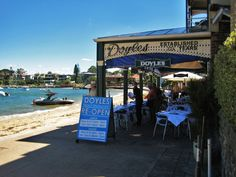 Our walking tour this week takes us to the old fishing village of Watsons Bay. Easily reached by taking the ferry from Circular Quay, it is best known for. Fishing Villages, Walking Tour, Sunny Days, Old Things, Meal, Street View, Tours, Food, Meals