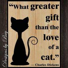 This adorable 9 x 11 wooden sign would make wonderful gift for your favorite cat lover or a wonderful accessory for your own home! The sign can be