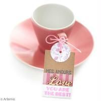 """Une étiquette """"mots doux"""" pour la St Valentin"""