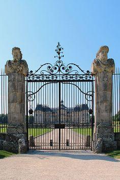 château de Vaux-le-Vicomte - Maincy (Seine-et-Marne, France).