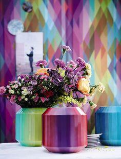 Rosenthal Hot Spots Colorful Vases