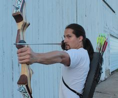 Ever notice how the cool action heroes all use bows and arrows these days?…