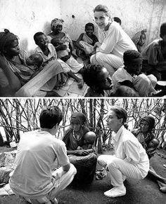 Somalia, 1992.   Top: Copyright © UNICEF/HQ92-1192/Betty Press.   Bottom: Copyright © UNICEF/HQ92-1182/Betty Press.