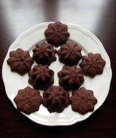Un panda dans la cuisine: Petits biscuits de Noël n°3 : Sablés de Noël au chocolat de Christophe Felder