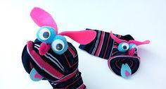 Maňásek ponožkáček č.209