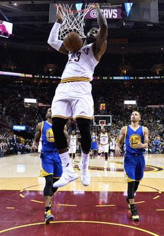 LeBron James of the Cleveland Cavaliers dunks the ball during the first half against the Golden State Warriors in Game 6 of the 2016 NBA Finals at Quicken Loans Arena on June 2016 in Cleveland Basketball Practice, Basketball Workouts, Basketball Skills, Basketball Season, Basketball Legends, Nba Basketball, Kentucky Basketball, Basketball Pictures, Nfl Football