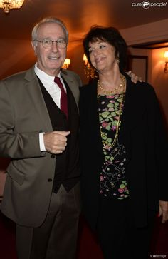 Bernard Le Coq et Anny Duperey.