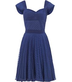 Reiss Melia Fit and Flare Dress