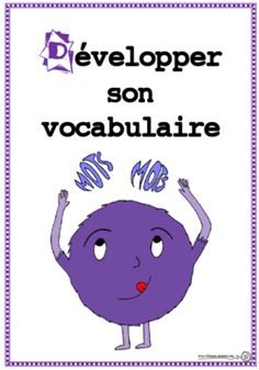 D comme dévelloper le vocabulaire, stratégie, lecture, dixmois French Teacher, French Class, Teaching French, Reading Lessons, Reading Strategies, Les Homophones, French Expressions, Always Learning, Literacy Activities