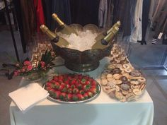 Champagne and strawberry evening at our store 27.2.2015