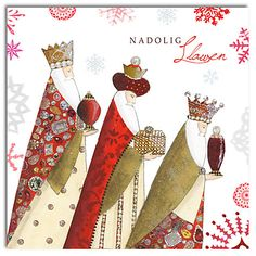 Buy Hammond Gower 3 Wise Men Welsh Charity Christmas Cards, Pack of 5 Online at johnlewis.com