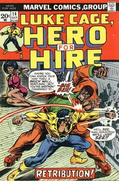 Luke Cage, Hero for Hire (1972)Cover art: Billy Graham