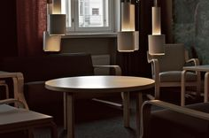 helka hotel in helsinki Helsinki, Finland, Conference Room, Dining Chairs, Friends, Table, Furniture, Home Decor, Amigos