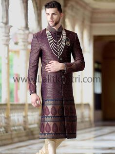 Handsome Groom Sherwani