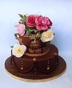 242 Best Chocolate Cakes Images On Pinterest Birthday Cakes