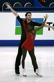 James and Ciprès Vanessa James Morgan Cipres, Skater Couple, Figure Skating Costumes, Unity In Diversity, Ice Skaters, Interracial Couples, African Diaspora, Sporty, Celebs