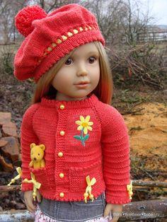Kidz n Catsновый вязанный комплект для моей Холли / Одежда и обувь для кукол - своими руками и не только / Бэйбики. Куклы фото. Одежда для кукол