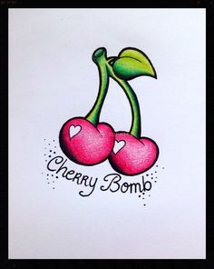#cherry #bomb #tattoo