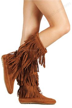 Tan Knee High Leather Boots with Tan Laces | For women, Knee highs ...