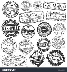 Find Nashville Tennessee Stamp Vector Art Postal stock images in HD and millions of other royalty-free stock photos, illustrations and vectors in the Shutterstock collection. Thousands of new, high-quality pictures added every day. Photo Illustration, Digital Illustration, Illustrations, Tennessee Tattoo, Art Postal, Photo Deco, Passport Stamps, Wreck This Journal, Nashville Tennessee