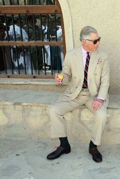 The Tan Summer Suit