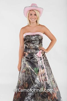 Front: 3055 Full Camo Mossy Oak New Breakup and Puff Pink