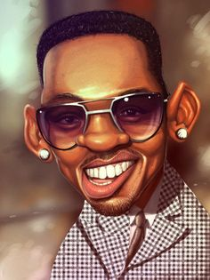 ♥ — with Will Smith. FOLLOW THIS BOARD FOR GREAT CARICATURES OR ANY OF OUR OTHER CARICATURE BOARDS. WE HAVE A FEW SEPERATED BY THINGS LIKE ACTORS, MUSICIANS, POLITICS. SPORTS AND MORE...CHECK 'EM OUT!! Anthony Contorno Sr