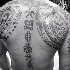 African Warrior Tribal Tattoos Body Art Symbolic Tattoos Tribal
