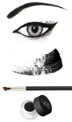 Keep it classic with a graphic eye