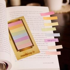 Masking Index Sticky Note Set