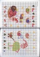 Gallery.ru / Фото #16 - Mango Pere Noel - Chispitas Christmas Cross, Xmas, Pixel Art, Cross Stitch Patterns, Bullet Journal, Gallery, Mango, Embroidered Towels, Easter