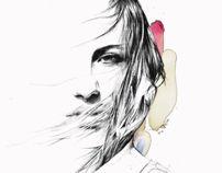 Illustrator, Art Director  J London, United Kingdom  www.spiroshalaris.com  FOCUS: Art Direction, Fashion, Illustration