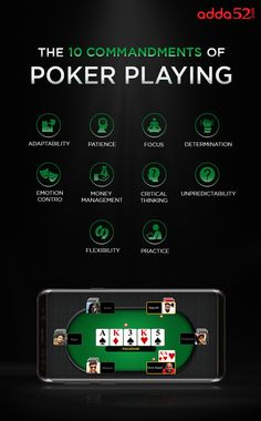 Here are the 10 commandments of poker games that you must implement in your gameplay in order to achieve great success at the tables. 10 Commandments, Poker Games, I Voted, The 10, Seo Services, Card Games, Play, Computers, Tables