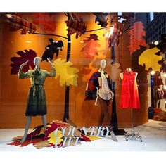 "MACY'S,N State Street, Chicago,Illinois,USA, ""Country Life.....Arrival of Autumn"",photo by Sylvia Q, pinned by Ton van der Veer"