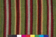 Museums Public Portal - skirt fabric - traditional woollen Estonian skirt fabric