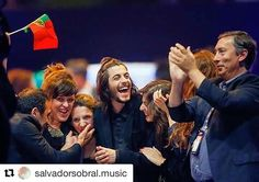 Parabéns! Congratulations! #winner #eurovision2017 #eurovisionsongcontest #kiev #ukraine #portugal #Repost @salvadorsobral.music  Obrigado!!!!   via MARIE CLAIRE UKRAINE MAGAZINE OFFICIAL INSTAGRAM -Celebrity  Fashion  Haute Couture  Advertising  Culture  Beauty  Editorial Photography  Magazine Covers  Supermodels  Runway Models