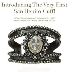 Virgins, Saints & Angels San Benito Oval Cuff