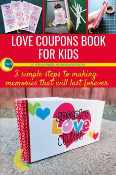 These Kid's Coupons are the perfect Valentine's gift for your favorite kids! Full of fun activities and wonderful memory making moments, these will last long after all that candy is gone. Diy Gifts For Kids, Diy For Kids, Crafts For Kids, Love Coupons, Print Coupons, Valentine Day Crafts, Valentines, Kids Christmas, Christmas Crafts