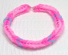Pinkie Pie Inspired Friendship Bracelet, My Little Pony Rainbow Loom Stretchy Bracelet, My Little Pony Friendship Bracelet