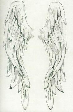 Pencil Drawings of angel wings - Bing Images Drawing Sketches, Pencil Drawings, Art Drawings, Drawings Of Angels, Angel Wings Drawing, Angel Wings Painting, Vintage Illustration, Desenho Tattoo, Angel Art