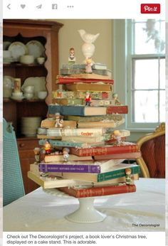 Book Lover's Christmas Tree