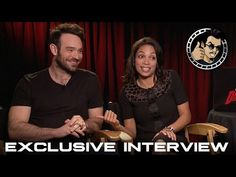 Charlie Cox and Rosario Dawson Interview - Daredevil (HD) Marvel, Netflix, 2015 - YouTube
