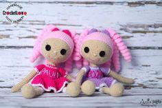Amigurumi, lalaloopsy, dolls, Crochetkowo