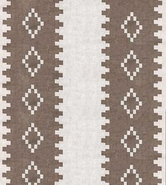 Interior Colour Trends, Off White, Black & Tan | Mohave Fabric by Andrew Martin | Jane Clayton