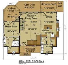 rustic house floor plan adirondack