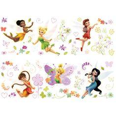 disney+fairies+pictures | Décoration Chambre Enfant : Stickers Muraux Disney Fairies